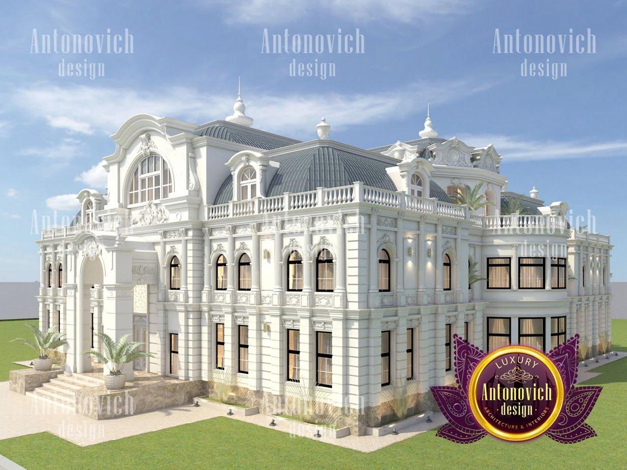 biệt thự lâu đài 3 tầng 250m2