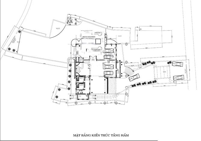 biệt thự lâu đài 4 tầng 360m2 6