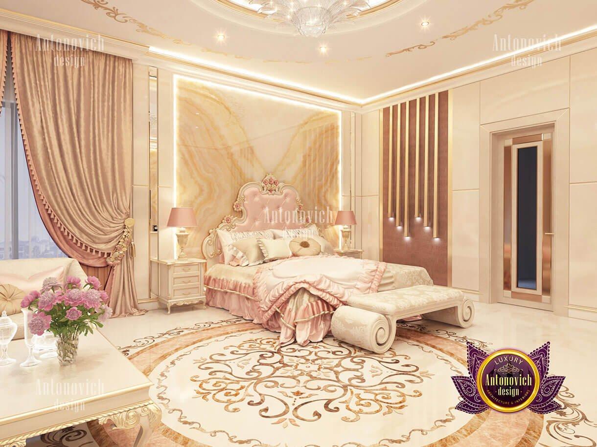biệt thự lâu đài Châu Âu phòng ngủ master