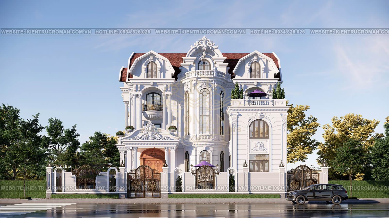 biệt thự lâu đài cổ điển 1000m2