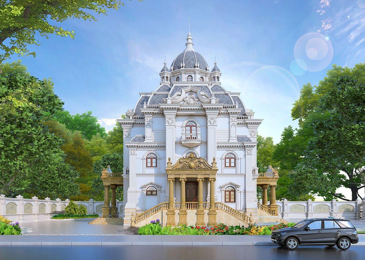 biệt thự lâu đài cổ điển 1000m2 mặt tiền