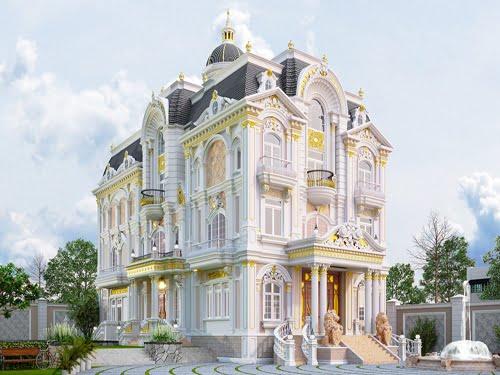 biệt thự lâu đài cổ điển đại diện
