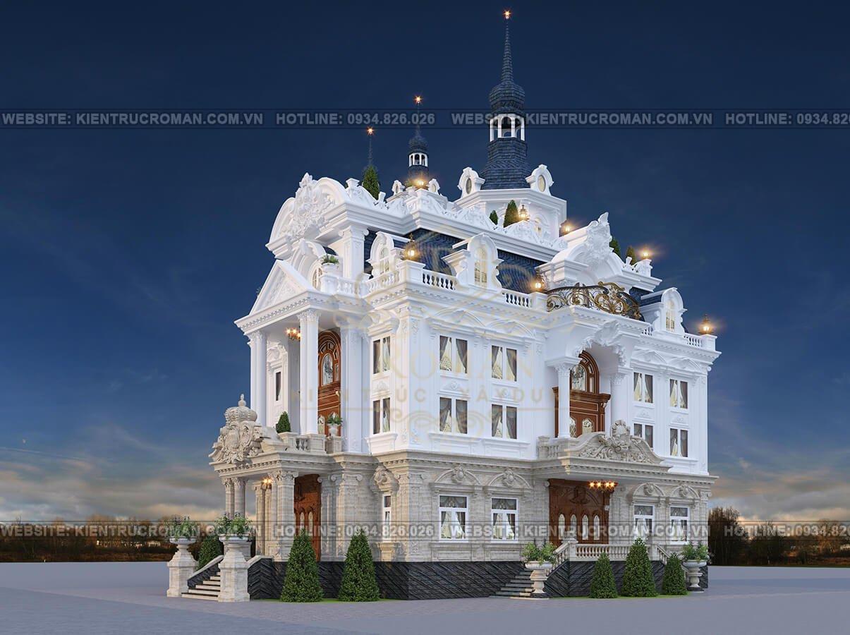 biệt thự lâu đài tân cổ điển
