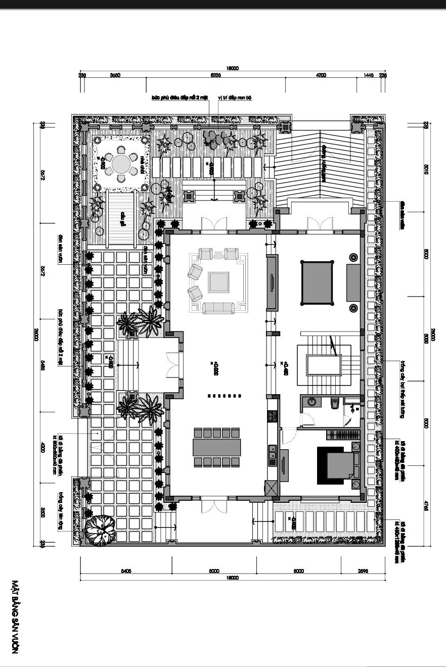 biệt thự mái thái 3 tầng 270m2 6