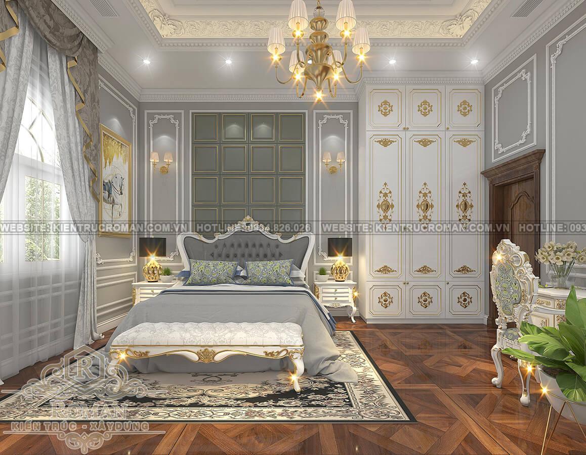 biệt thự mặt tiền 13m phòng ngủ 2