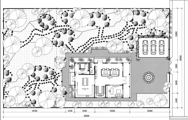 biệt thự nhà vườn 10x15m