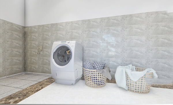 biệt thự nhà vườn 2 tầng 15x15m phòng giặt