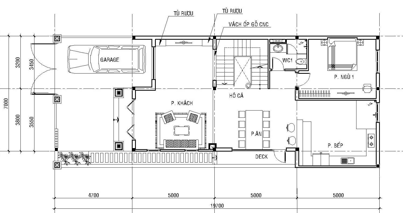 biệt thự pháp 3 tầng