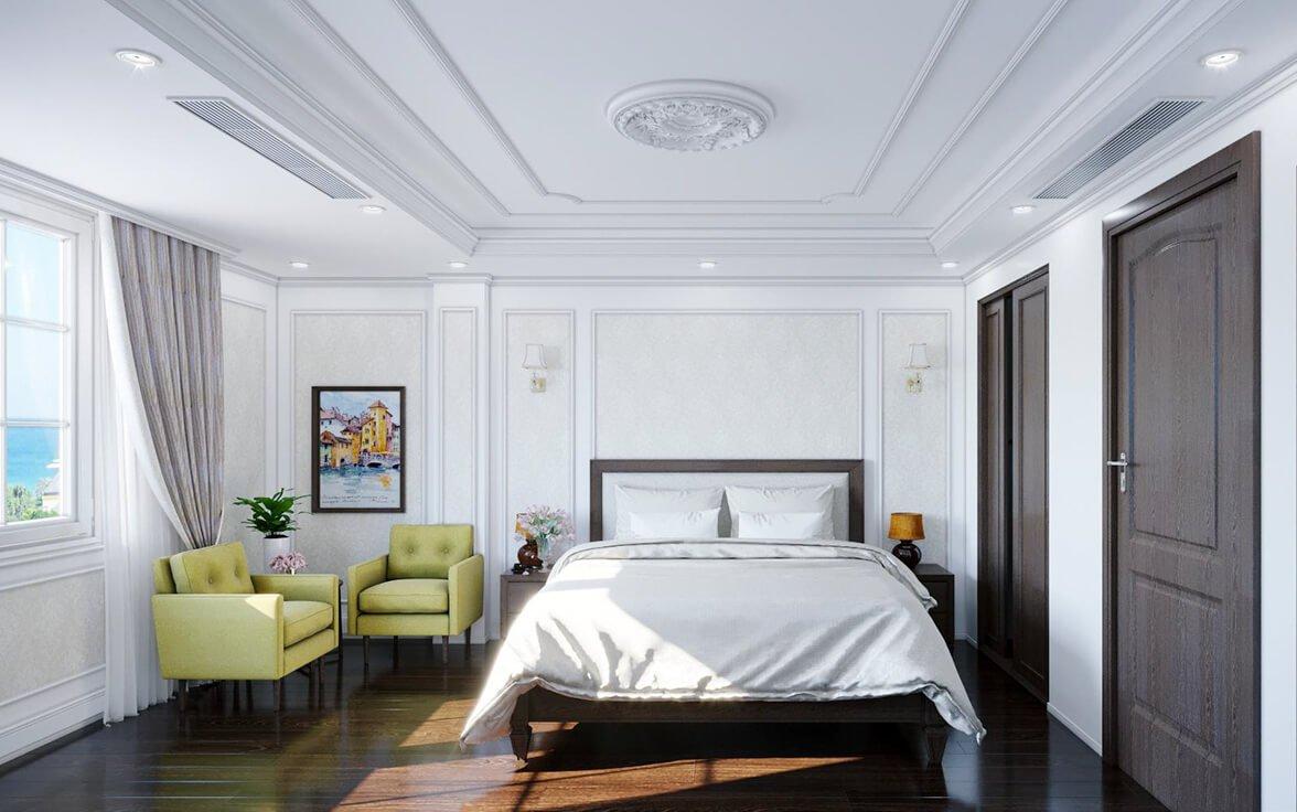 biệt thự phố 1 mặt tiền 3 tầng phòng ngủ