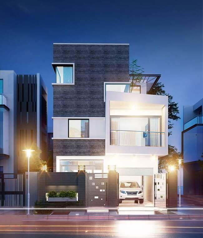 biệt thự phố 3 tầng 8x15 2