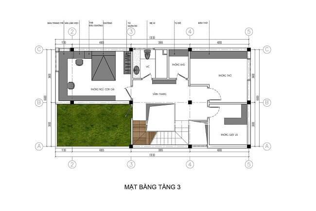 biệt thự phố 3 tầng 8x15 6