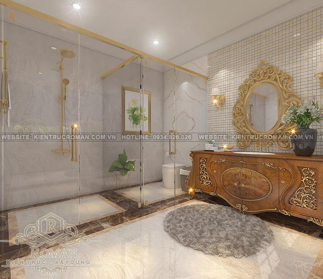 biệt thự phố 8x14m phòng tắm master