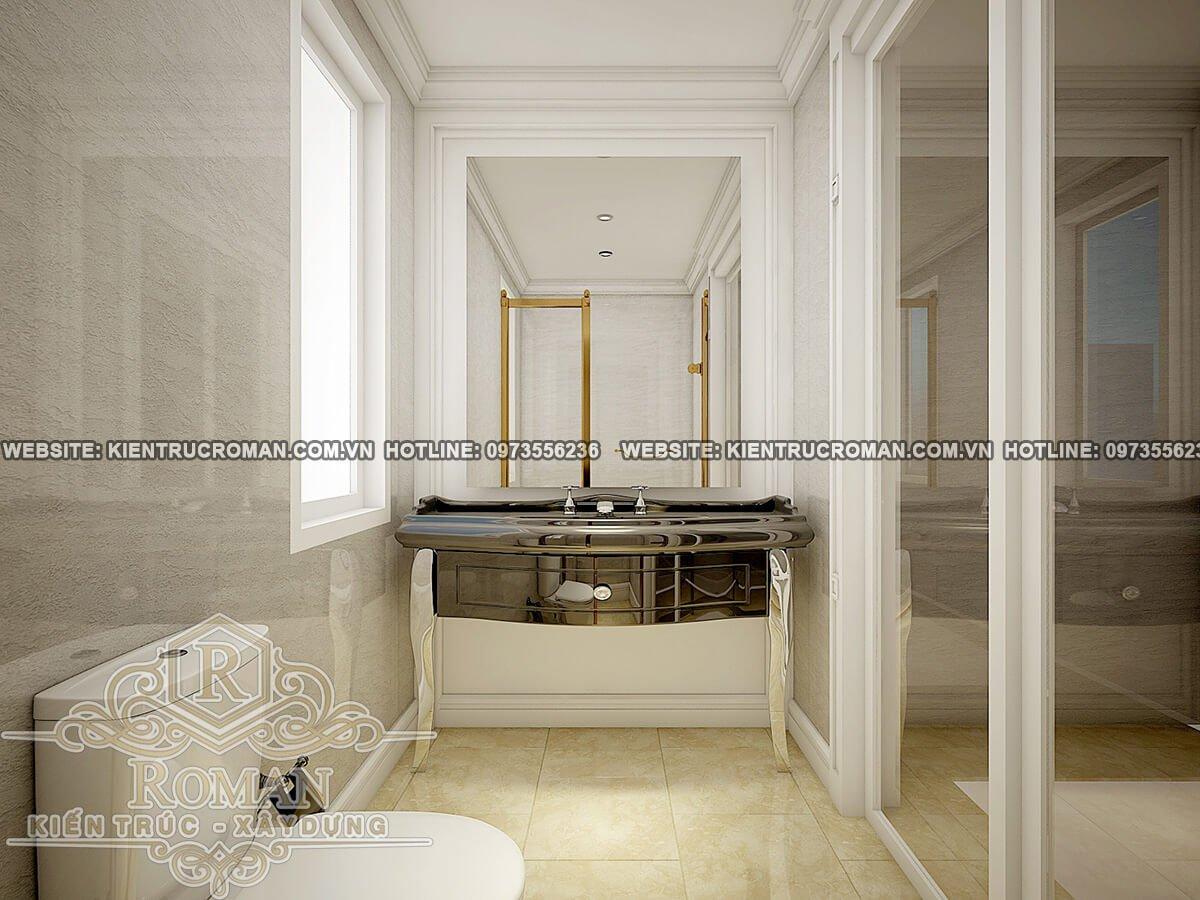 phòng tắm thiết kế biệt thự phố đẹp