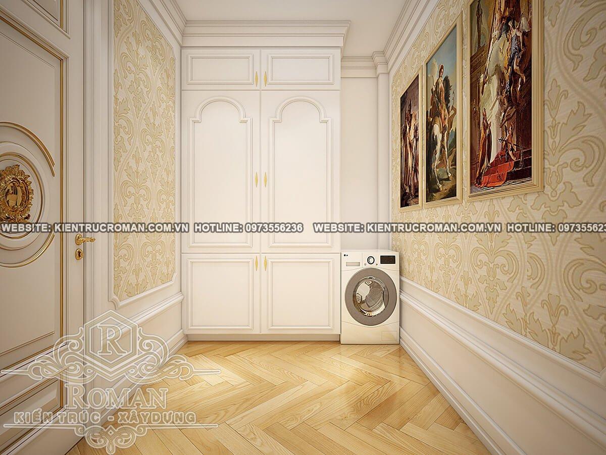 phòng giặt biệt thự phố đẹp