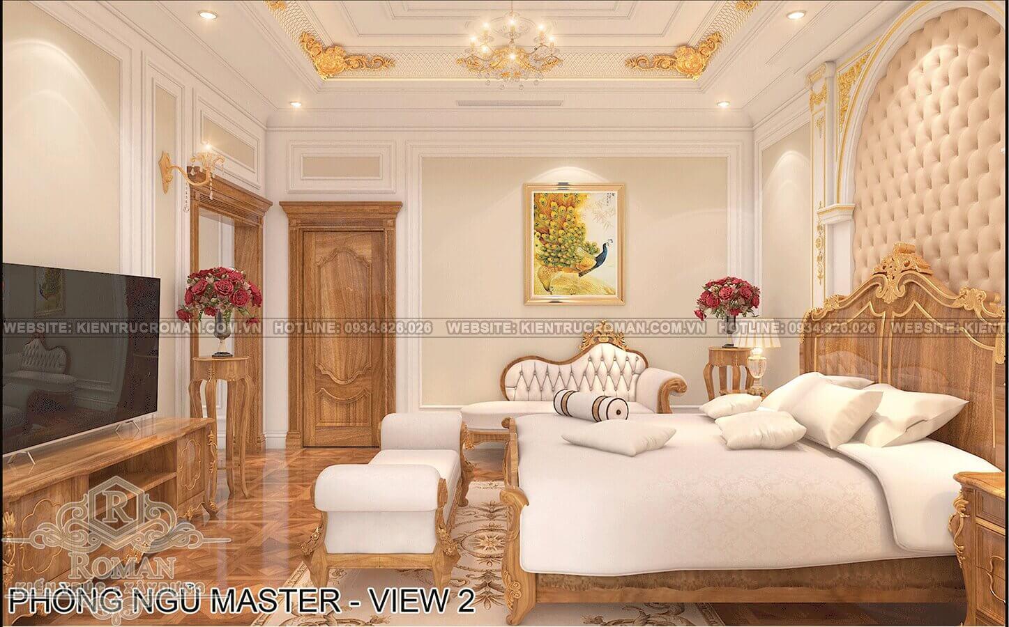 biệt thự phố mặt tiền 10m phòng ngủ master