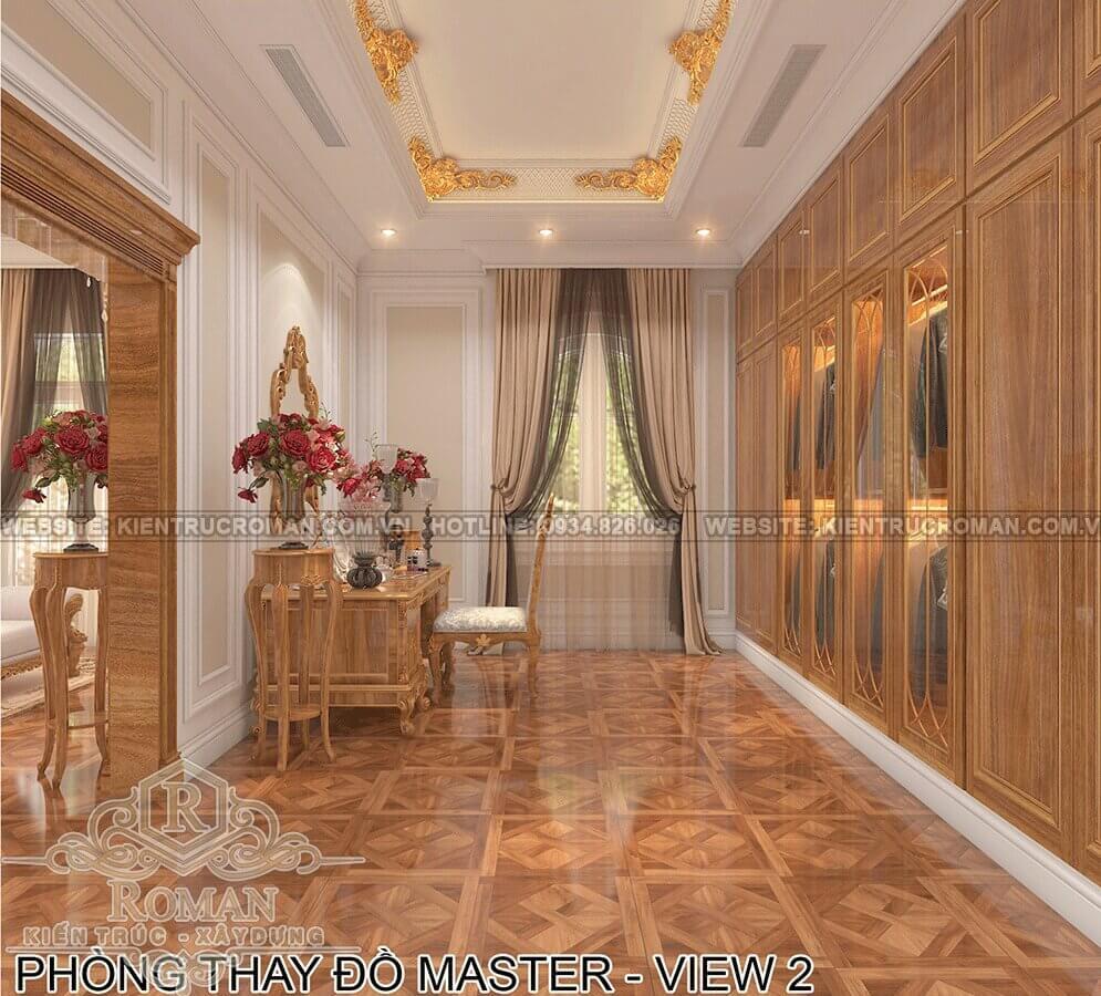 biệt thự phố mặt tiền 10m phòng thay đồ master