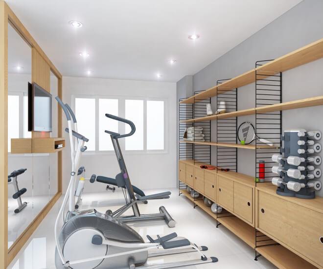 biệt thự tân cổ điển 11x12m phòng tập gym