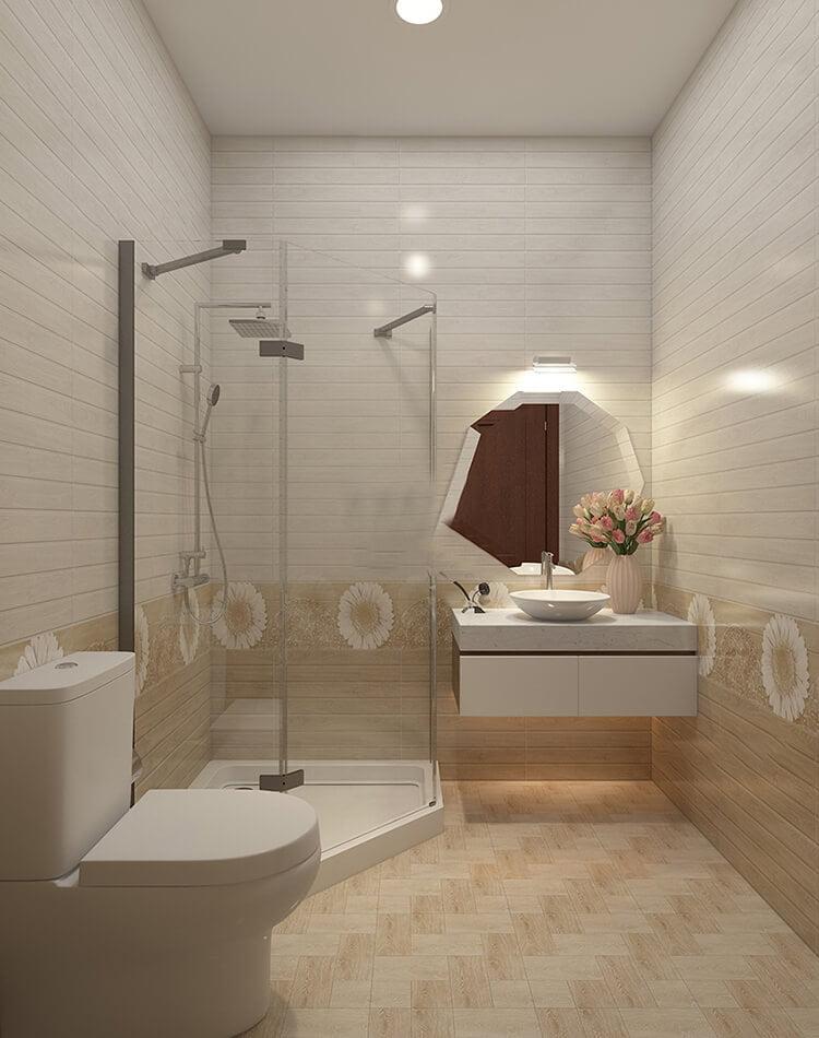 biệt thự tân cổ điển 15x20m nhà tắm