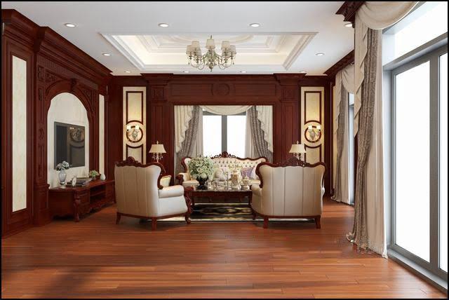 biệt thự tân cổ điển 3 tầng đẹp 9