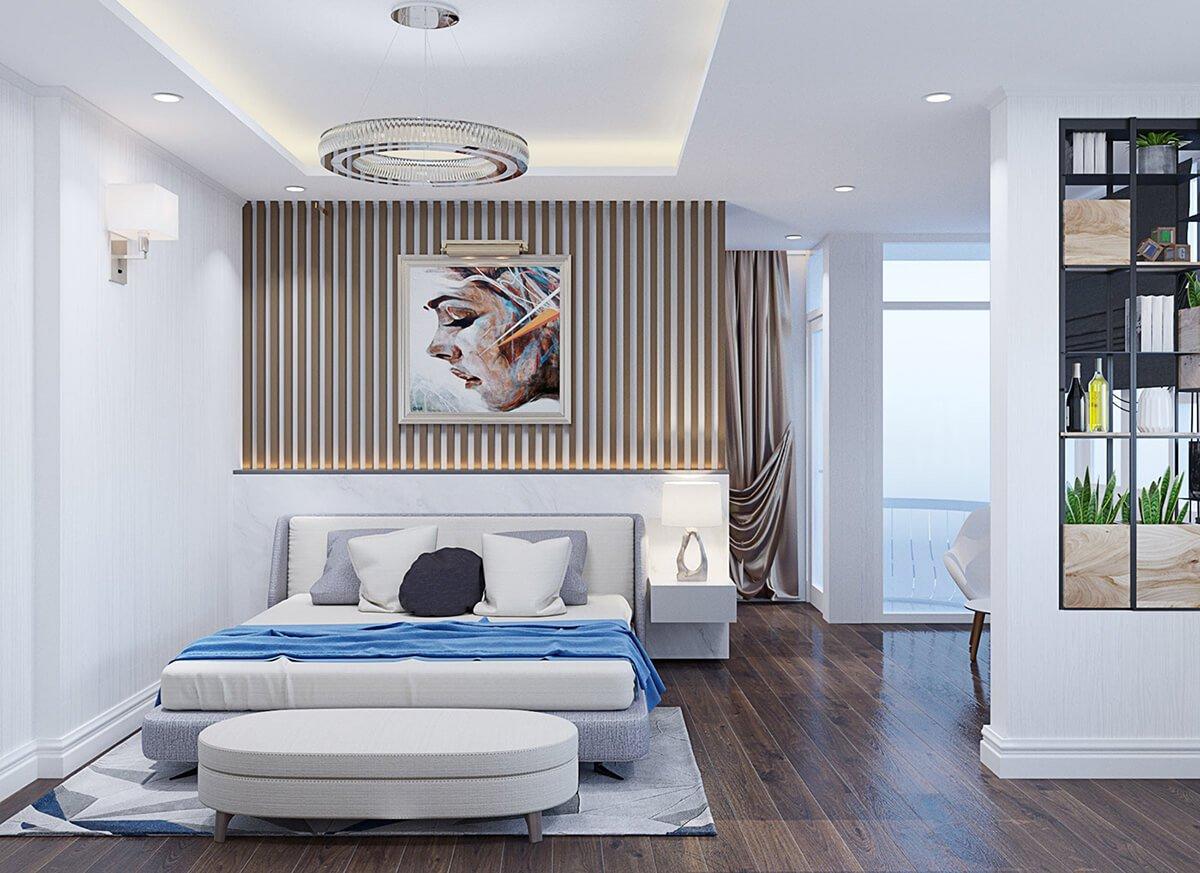 biệt thự tân cổ điển 5 tầng phòng ngủ master