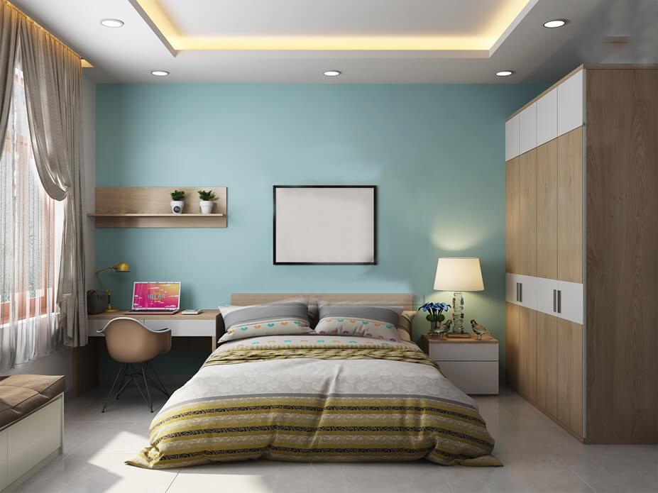 biệt thự villa hiện đại phòng ngủ 4