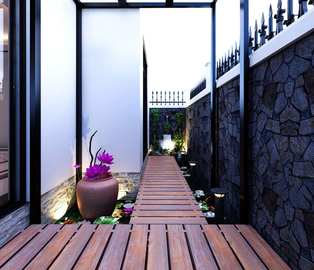 biệt thự vườn 1 tầng tân cổ điển