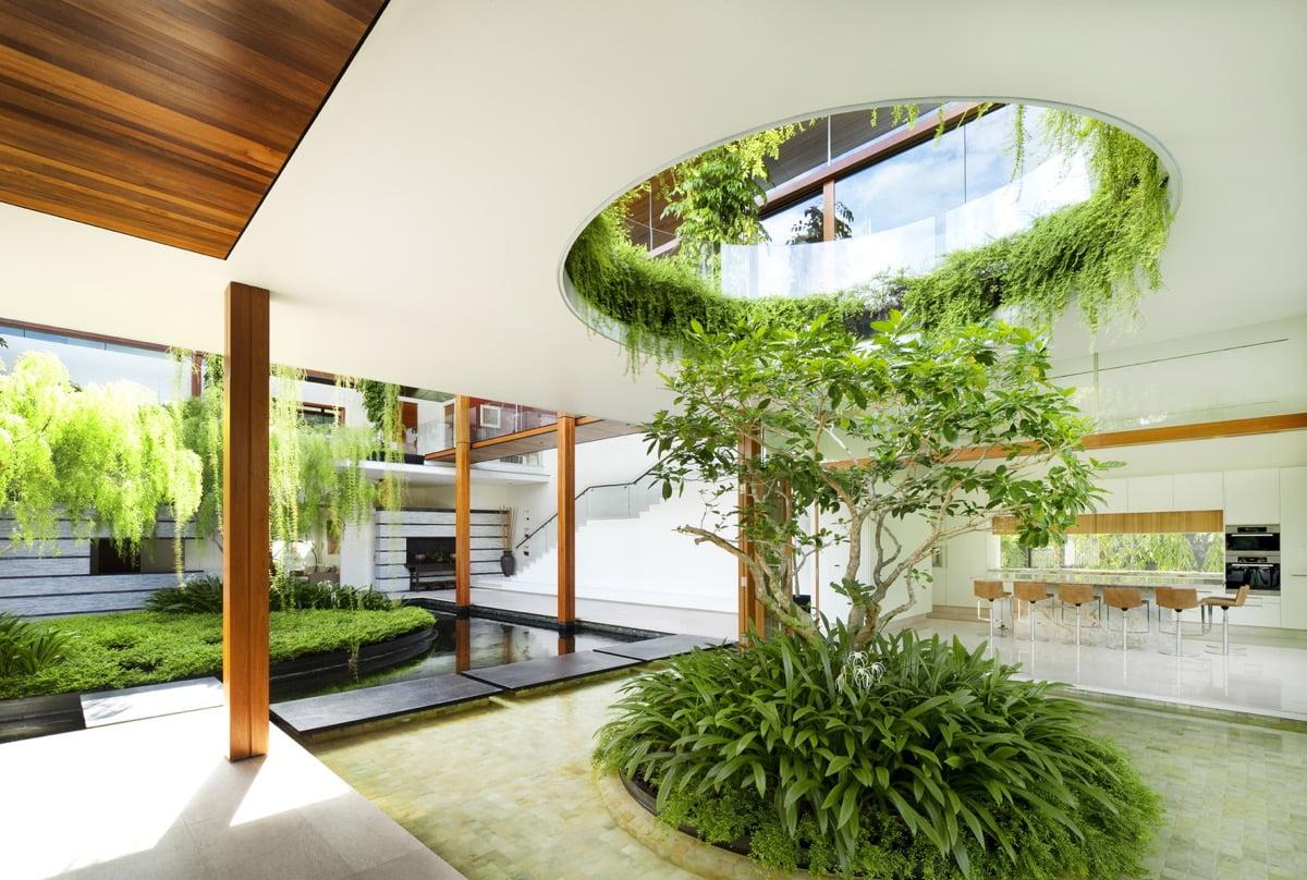biệt thự vườn 2 tầng đẹp