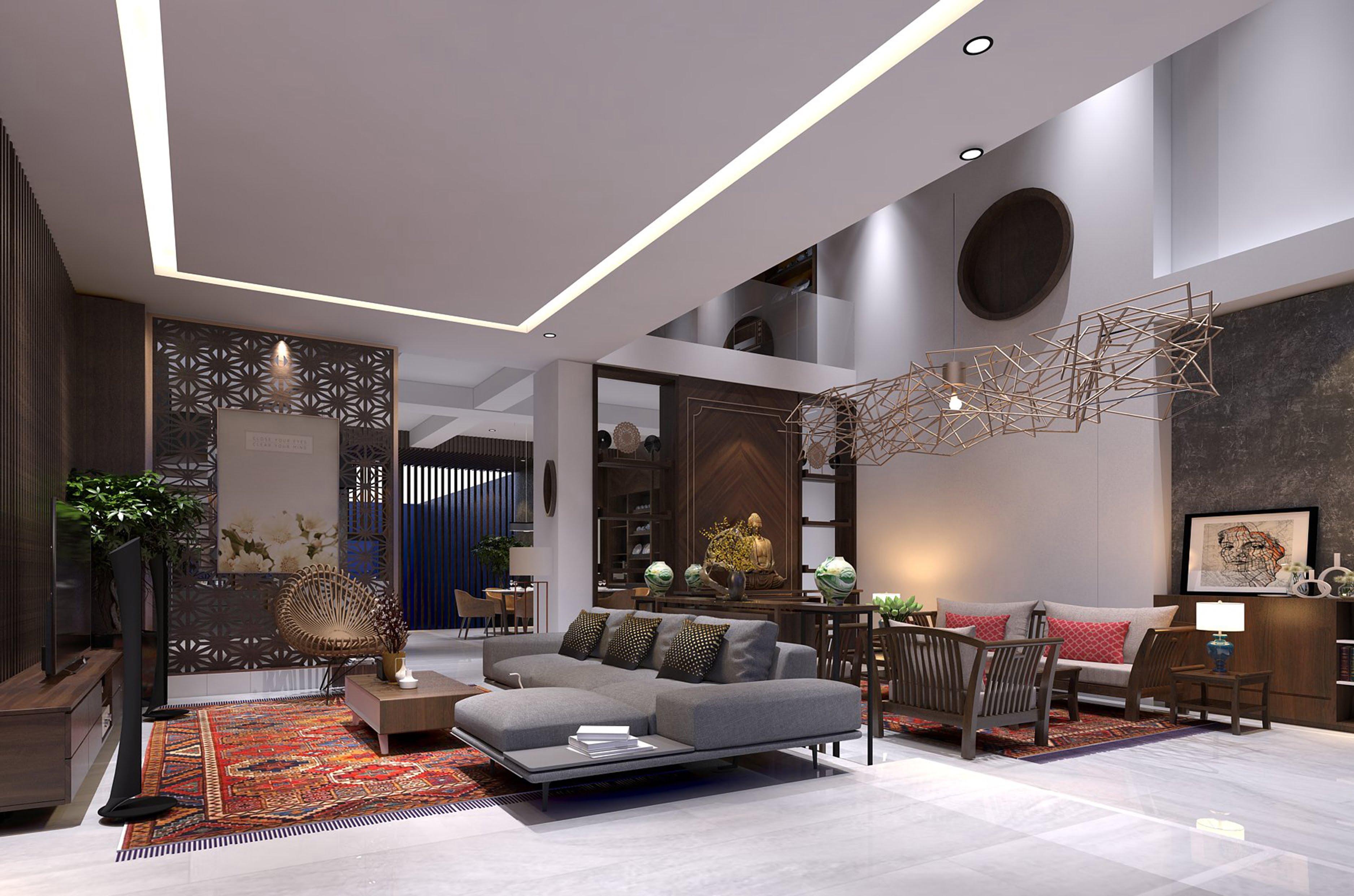 thiết kế biệt thự vườn 3 tầng mái thái 180m2 6