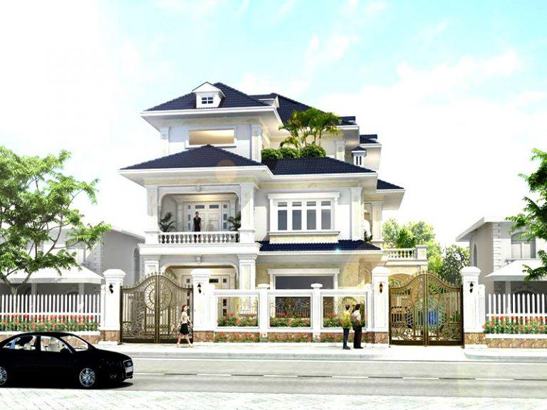 thiết kế mẫu biệt thự đẹp 3 tầng 2