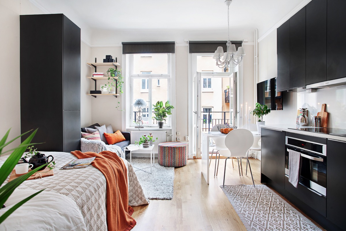 cách kết hợp màu sắc trong thiết kế căn hộ diện tích nhỏ 05