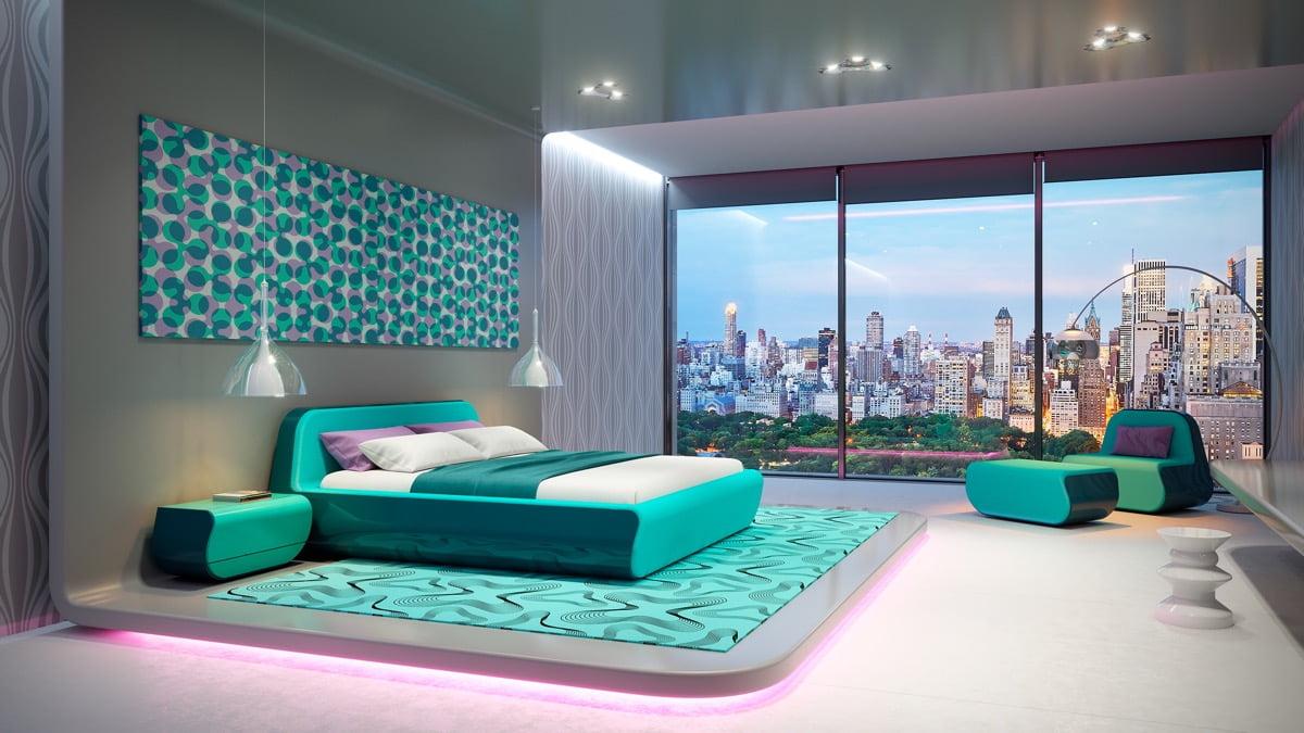 cách trang trí phòng ngủ đẹp 10