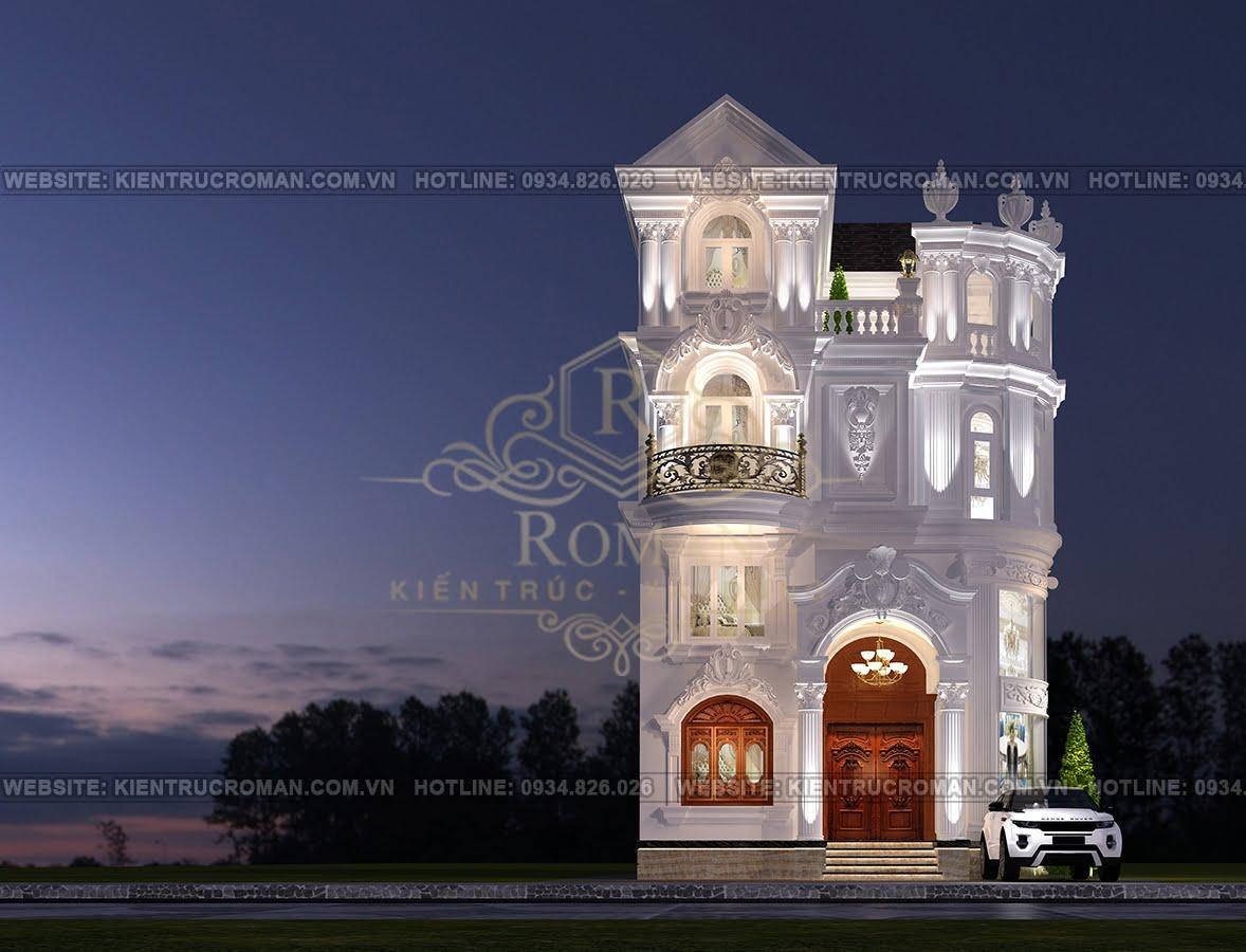 thi công cải tạo biệt thự cũ thành mới hình thiết kế