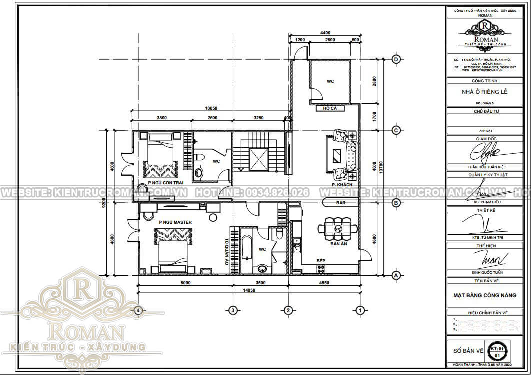cải tạo nội thất căn hộ