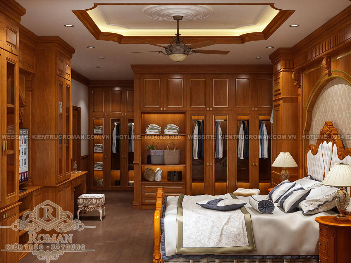 cải tạo nội thất phòng ngủ master