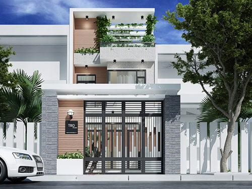 Cập nhật những mẫu nhà 2 tầng đẹp lí tưởng cho năm 2019