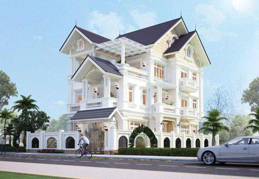Chia sẻ những mẫu biệt thự đẹp 3 tầng ai nhìn cũng thích