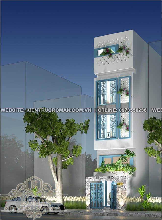 Chiêm ngưỡng các mẫu thiết kế nhà ống 5 tầng đẹp giữa lòng thành phố