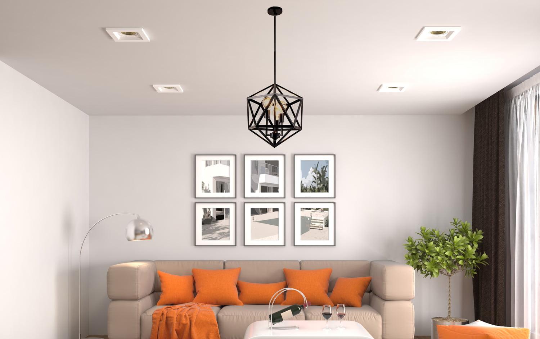 đèn trang trí phòng khách 13