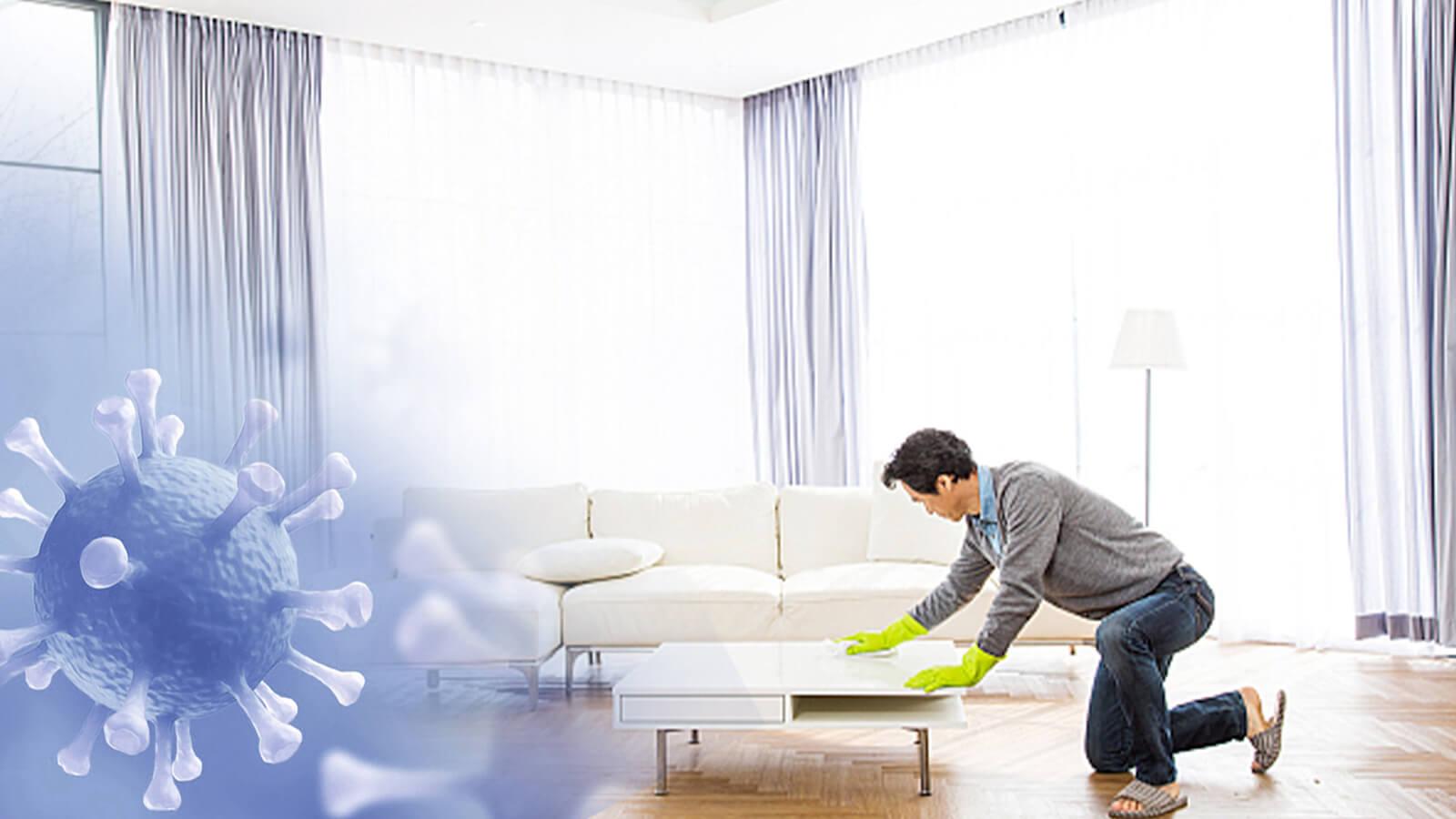 dọn dẹp nhà cửa nhanh chóng