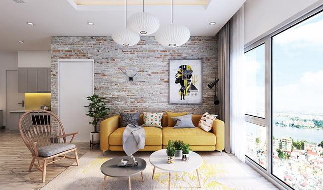 gạch ốp tường phòng khách 10