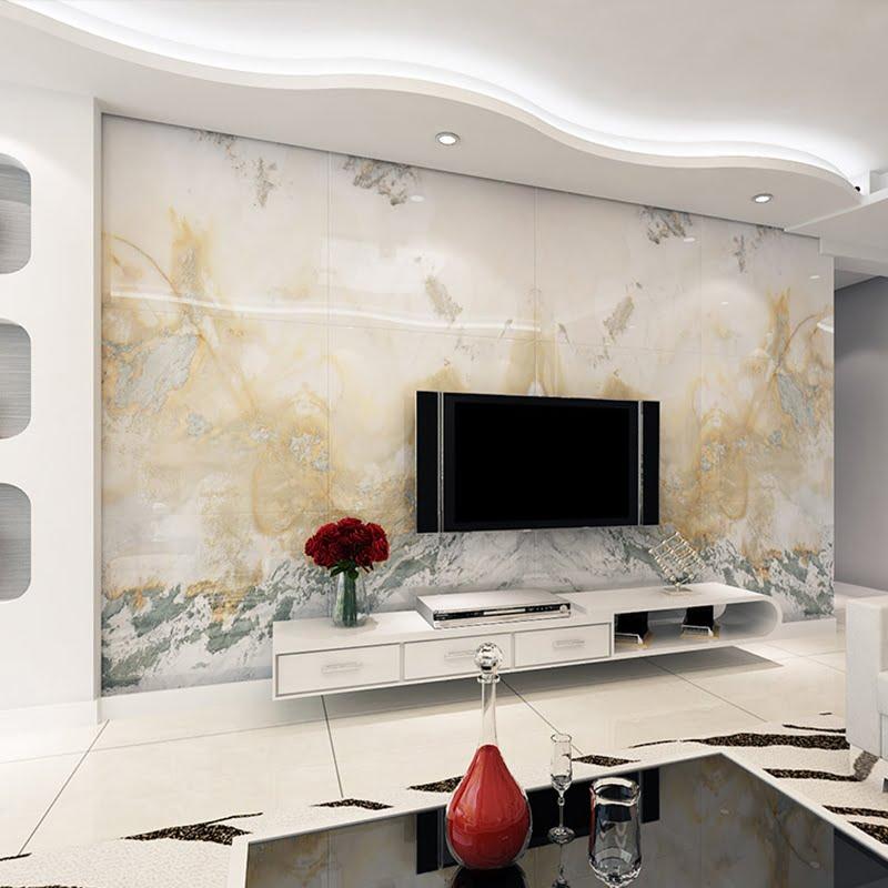 gạch trang trí phòng khách 19