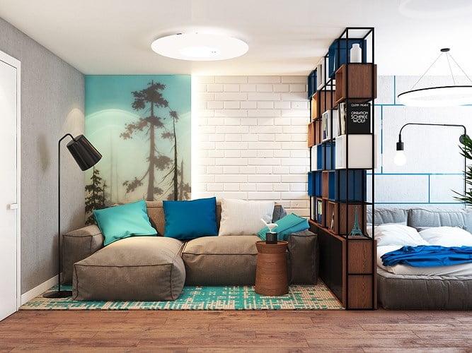 giải pháp thiết kế căn hộ diện tích nhỏ đẹp 1