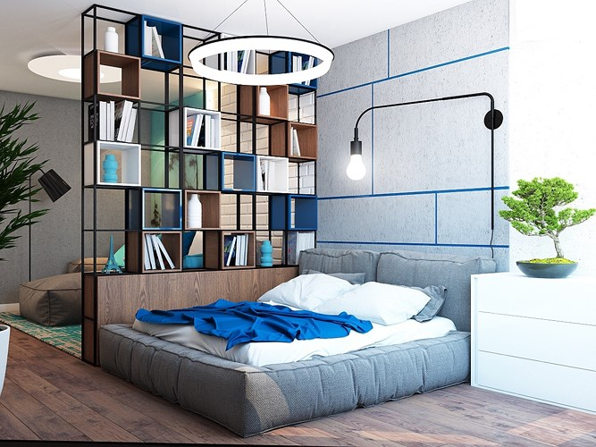 giải pháp thiết kế căn hộ diện tích nhỏ đẹp 2