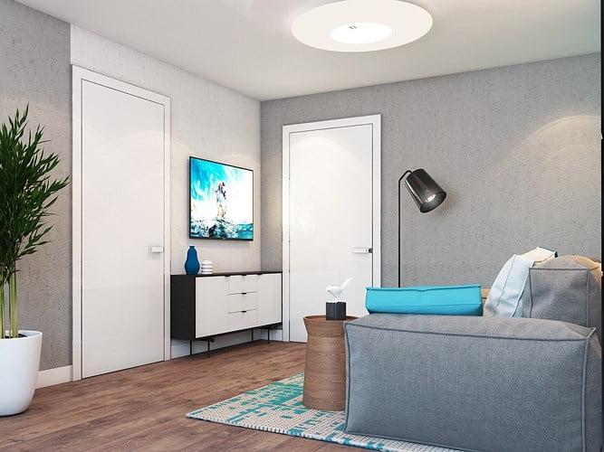 giải pháp thiết kế căn hộ diện tích nhỏ đẹp 4