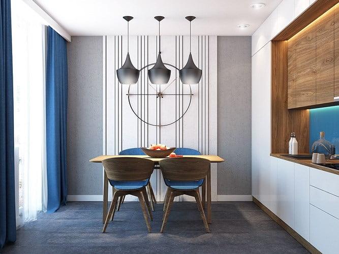 giải pháp thiết kế căn hộ diện tích nhỏ đẹp 5