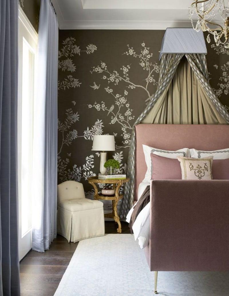mẫu giấy dán tường cho phòng ngủ 10