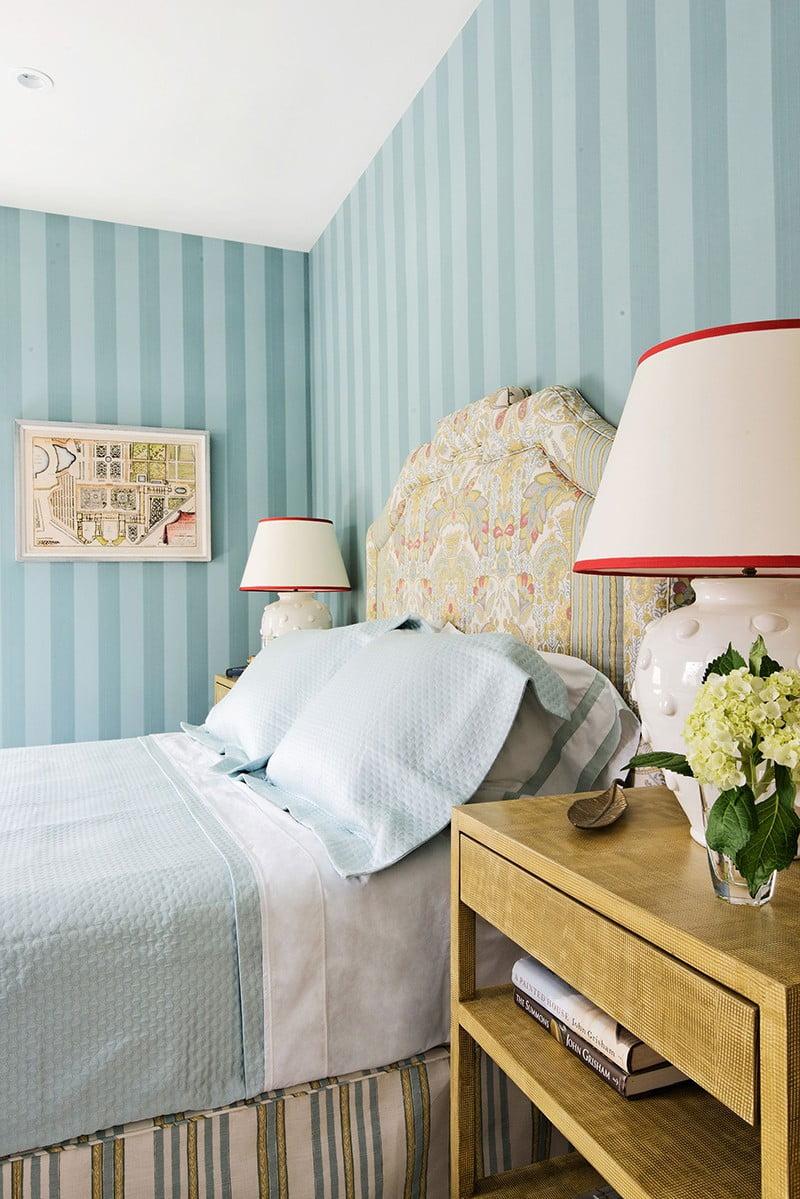 mẫu giấy dán tường cho phòng ngủ 2
