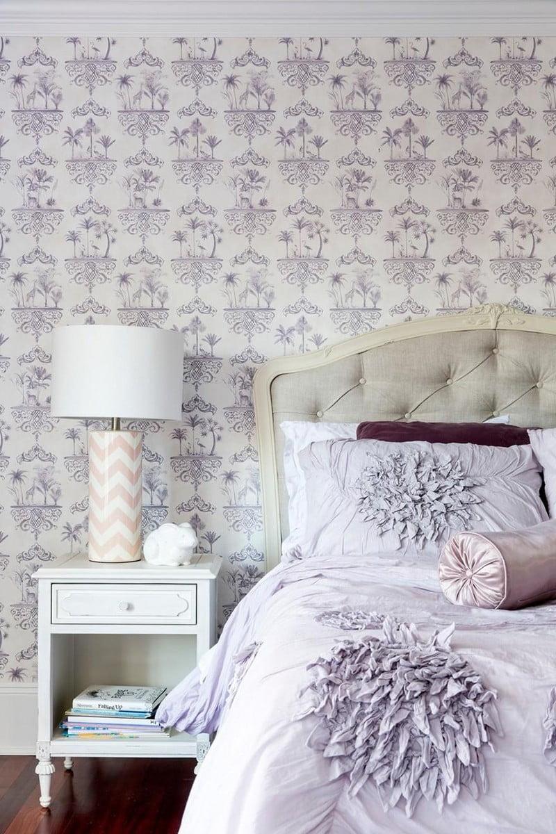 mẫu giấy dán tường cho phòng ngủ 4