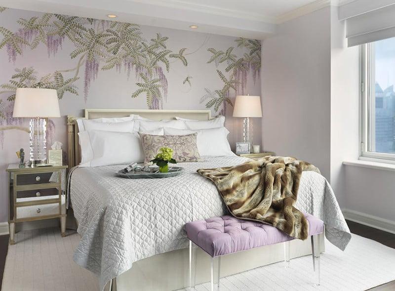 mẫu giấy dán tường cho phòng ngủ 6