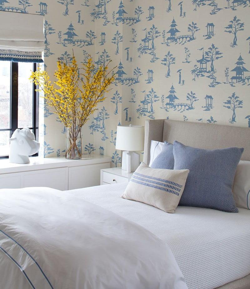 mẫu giấy dán tường cho phòng ngủ 8